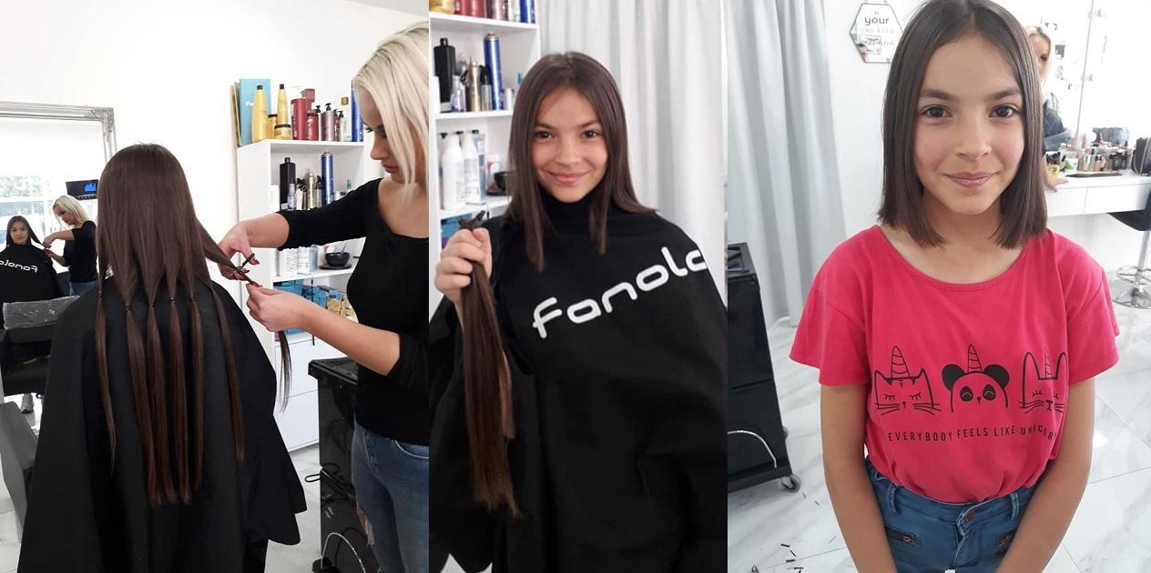 Bugojanka Nejra Čusto donirala kosu za bolesnu djecu sa hematologije u Sarajevu